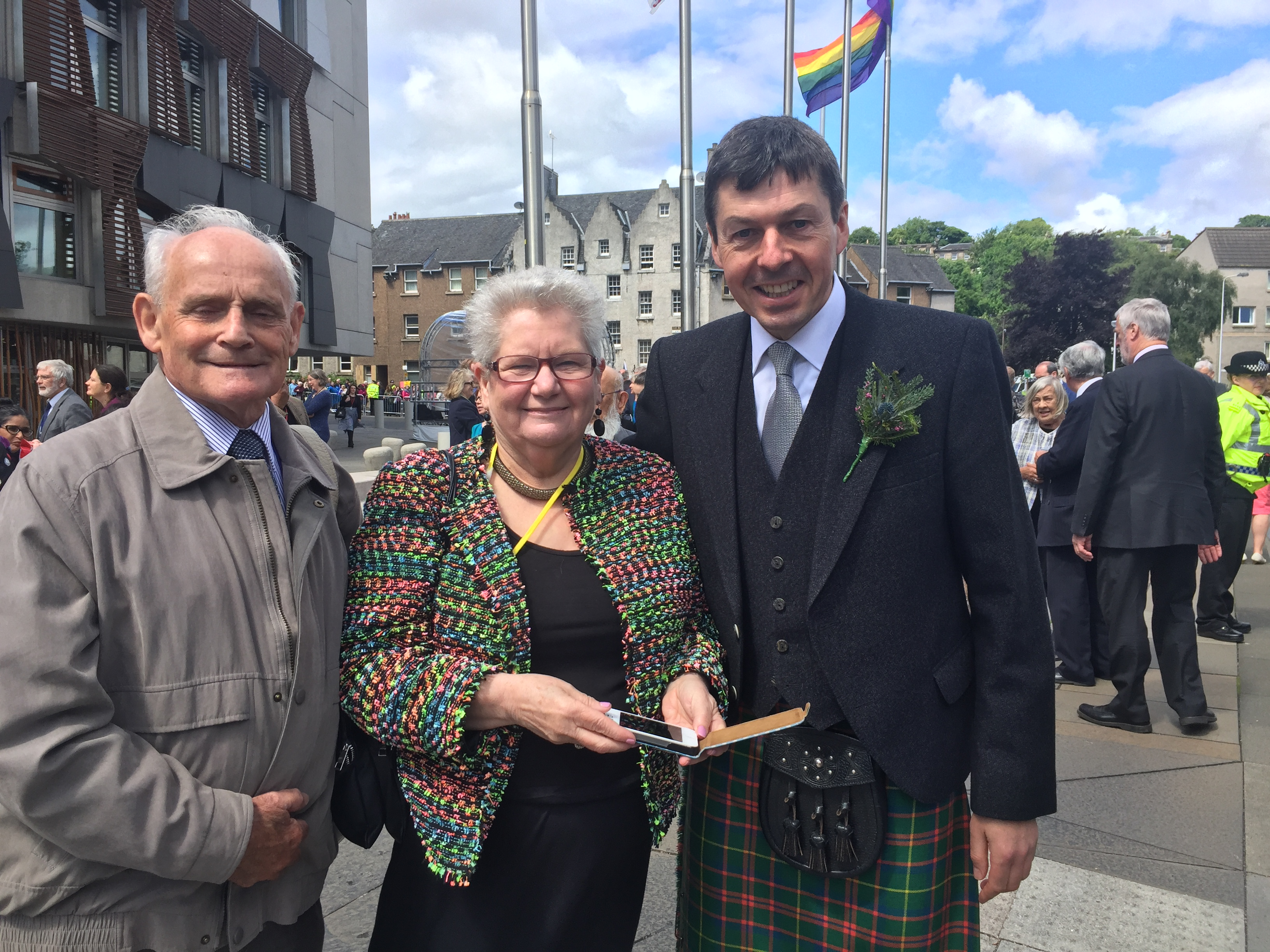 With Local Hero Anne Marie Kennedy and her husband Noel