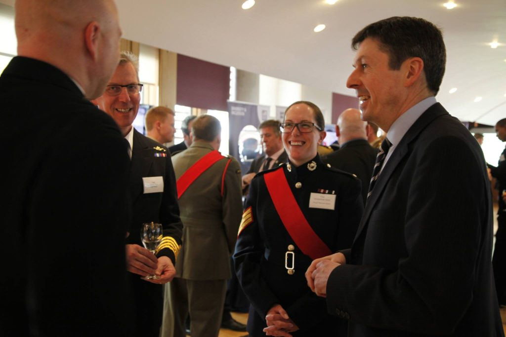 Armed Forces Parliamentary Visit Launch Event