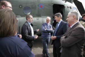 RAF Lossiemouth Factfinding Visit