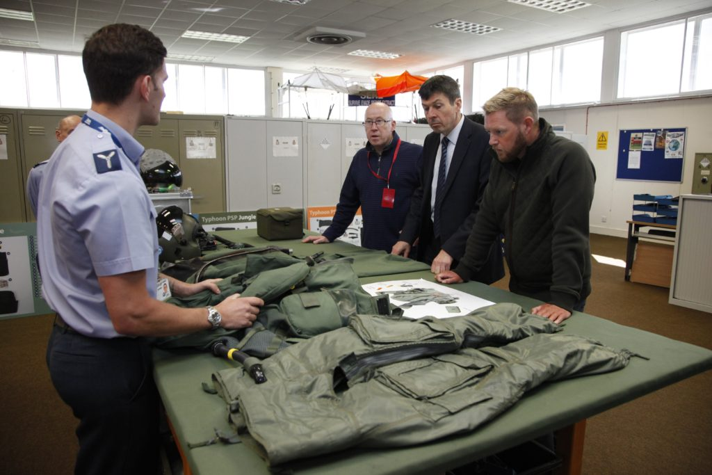 RAF Lossiemouth fact finding visit